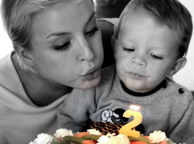 Alizée Poulicek : elle fête les deux ans de son fils !