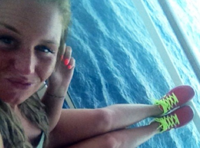 Aurélie Van Daelen: la croisière s'amuse mais fait du sport aussi!