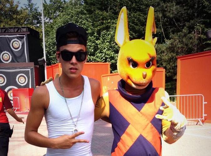Christopher Bieber : Il s'éclate à Walibi !