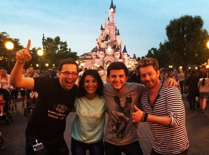 David Antoine : pote avec Mickey !