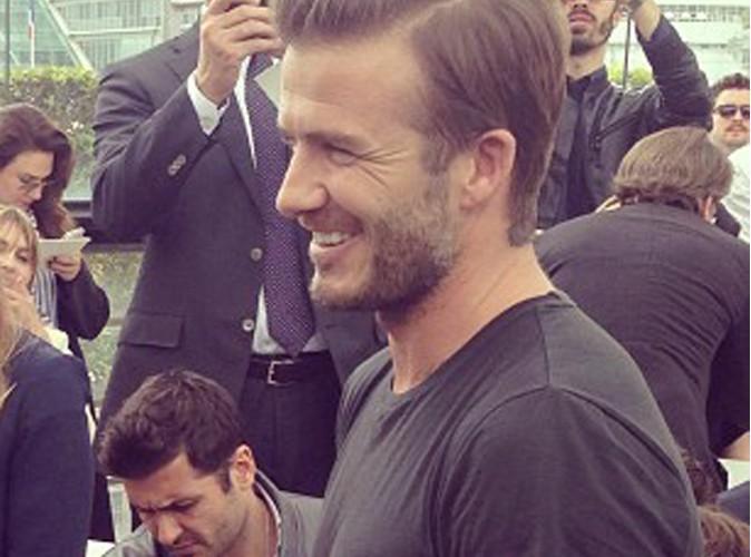 David Beckham : un petit match en Flandre ?