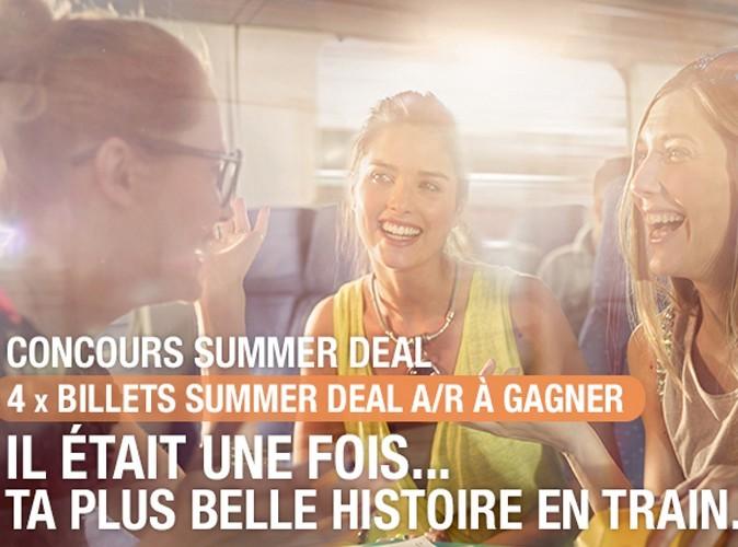 Gagne des billets Summer Deals en nous racontant ta plus belle histoire en train !