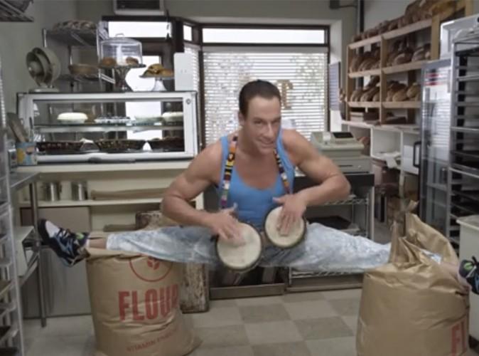 Jean Claude Van Damme : il fait le grand écart !