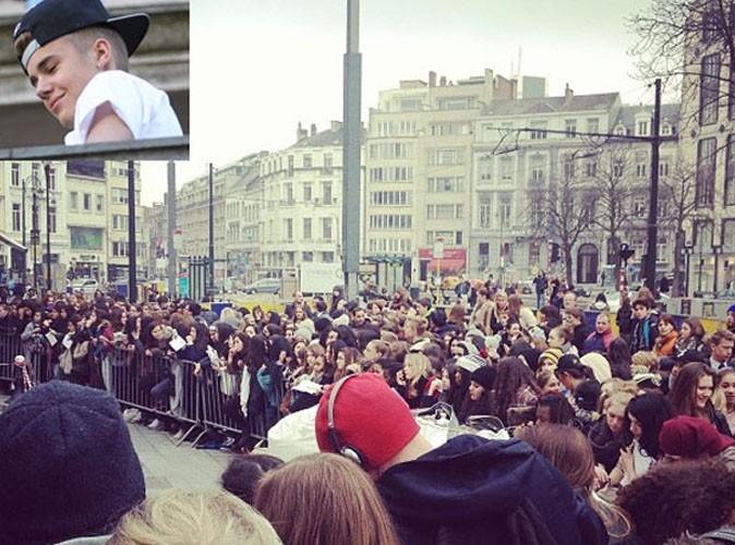 Justin Bieber : la « Bieber mania » frappe Bruxelles !
