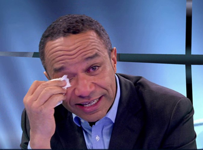 Luc Maton : il fond en larmes en direct !