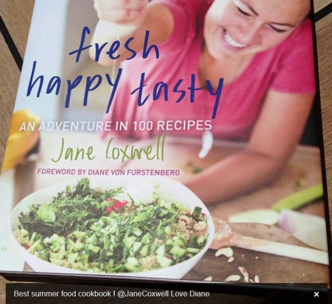 Diane Von Fürstenberg profite des vacances pour cuisiner ! mmmh