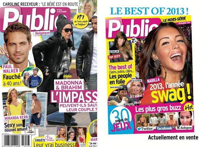 Public Belgique : les stars, leurs amis et leurs amours !