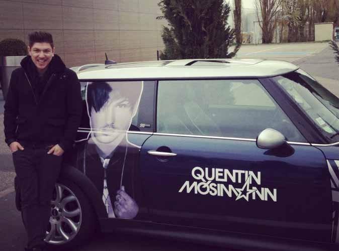 Quentin Mosimann : Sa tête sur une Mini !