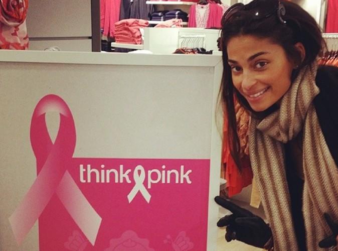 Tatiana Silva : elle pose pour une bonne cause !