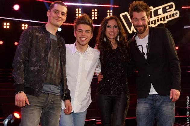 The Voice : les 4 finalistes dévoilés !