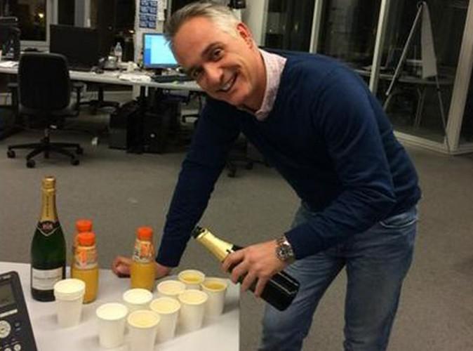 Thomas Van Hamme : un verre de champagne et c'est reparti !