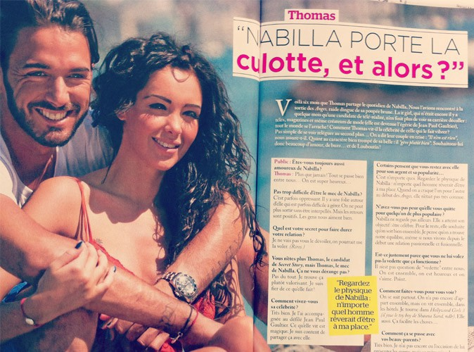 Tous les secrets du couple Nabilla – Thomas dévoilés grâce à Public Belgique !