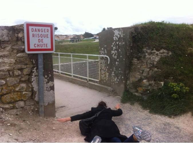 Virginie Hocq : une chute est vite arrivée !