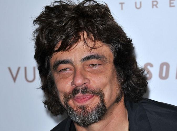 Benicio del Toro est un homme et surtout un papa heureux !