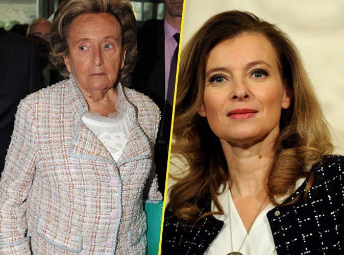 """Bernadette Chirac : """"Je pense que Valérie Trierweiler est triste """" !"""