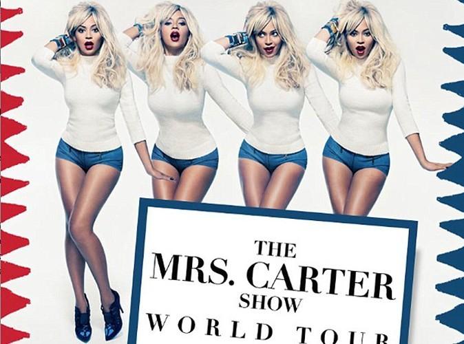 Beyoncé : blonde aux multiples facettes sur la nouvelle affiche de sa tournée!