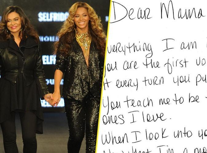Beyoncé : elle rend hommage à sa maman dans une émouvante lettre !