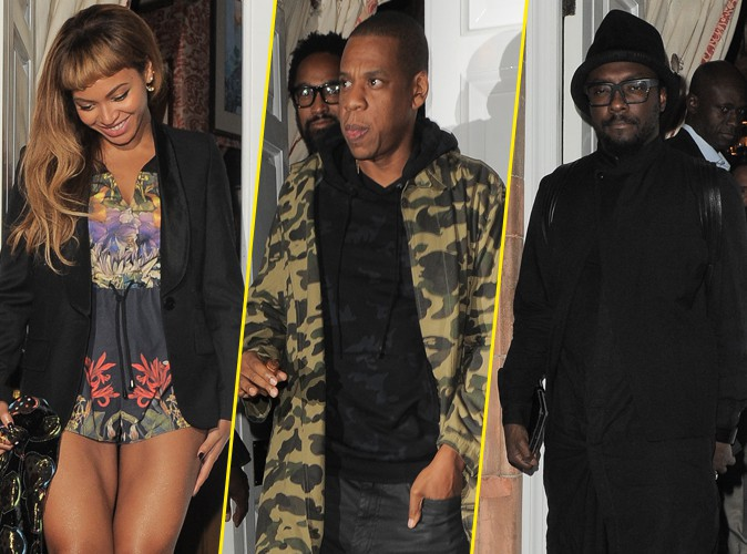 Beyonc� et Jay Z : une collaboration avec Will.I.Am en vue ?