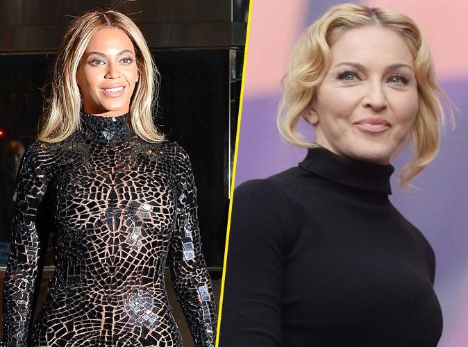 """Beyoncé : """"Je voulais suivre les pas de Madonna"""" !"""