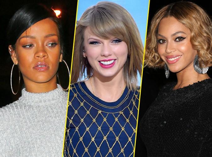 Beyonce, Taylor Swift, Rihanna ... qui pèse le plus lourd ?