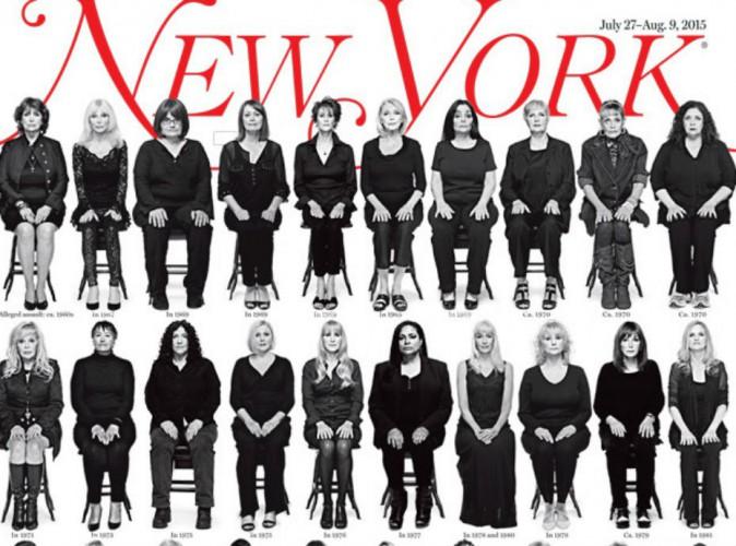 Bill Cosby : 35 femmes l'accusant d'agressions sexuelles en Une d'un prestigieux journal américain !