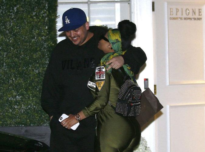 Blac Chyna : elle s'occupe de la ligne de Rob Kardashian !