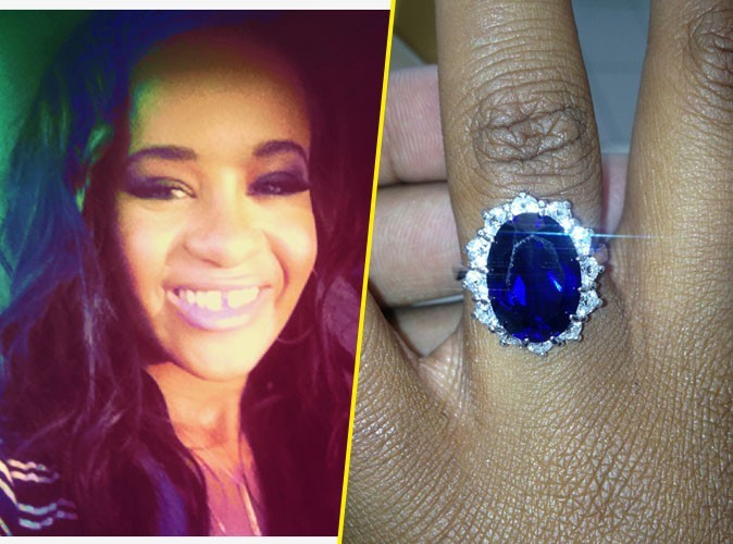 Bobbi Kristina : la fille de Whitney Houston serait-elle fiancée ?