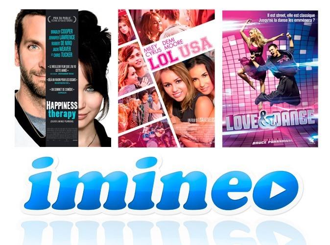 Bon plan VOD : 50% sur toute commande sur le site imineo.com !