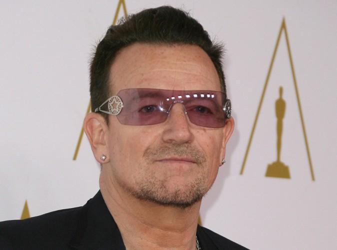 Bono : hospitalisé suite à un accident de vélo !