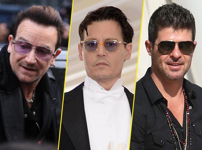 Bono, Johnny Depp, Robin Thicke… Tous sacrés people les moins influents de l'année 2014 !