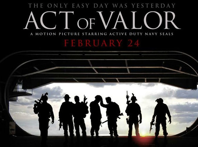 Box Office Us : les marines d'Act of Valor dominent !