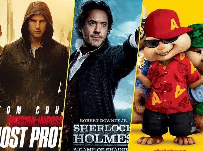 Box Office Us : Tom, Sherlock et Alvin au top pour la fin d'année !