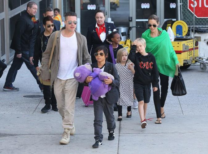 """Brad Pitt : """"Je m'épanouis plus avec mes enfants qu'en travaillant"""" !"""