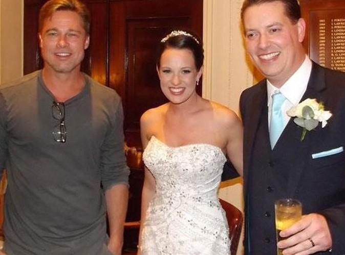 Brad Pitt : vive les mariés !
