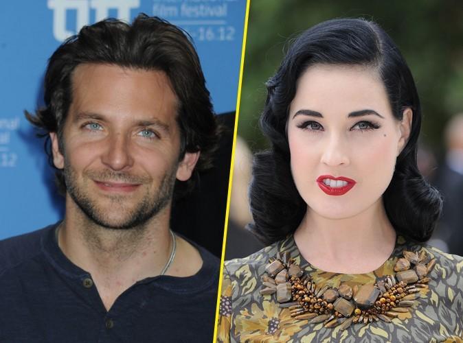 Bradley Cooper : il met un râteau à Dita Von Teese !