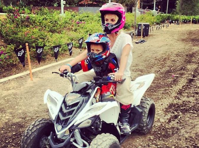 Britney Spears : en mode quad avec son fils Jayden !