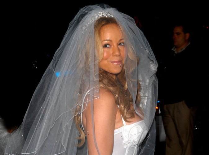 Ça y est Mariah Carey a trouvé sa robe de mariée !