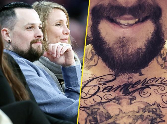 Cameron Diaz : tatouée sur le torse de Benji Madden !
