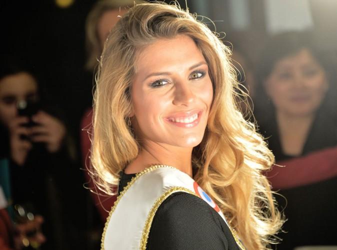 """Camille Cerf (Miss France 2015) évoque son couple : """"Je ferai mon possible pour que ça se passe bien"""" !"""