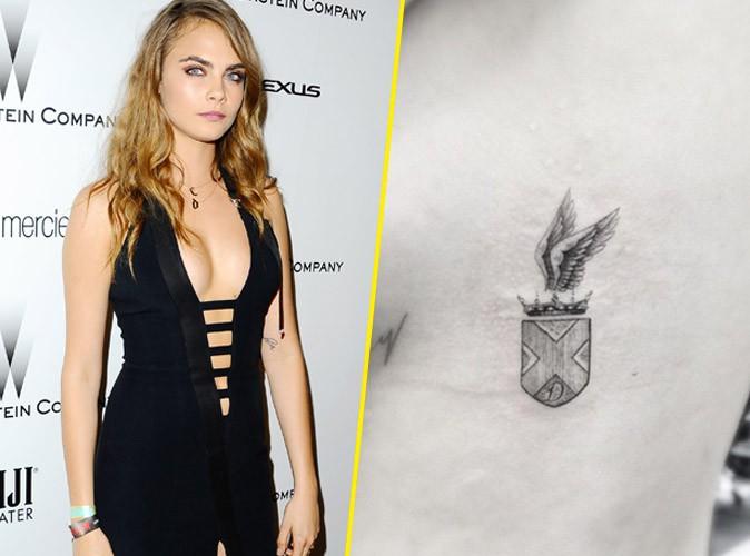 Cara Delevingne : le top dévoile un nouveau tattoo royal !