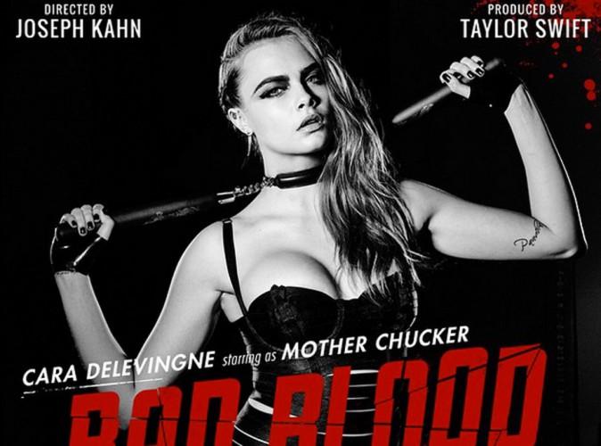 Cara Delevingne, maîtresse SM dans le clip de Taylor Swift, Bad Blood !