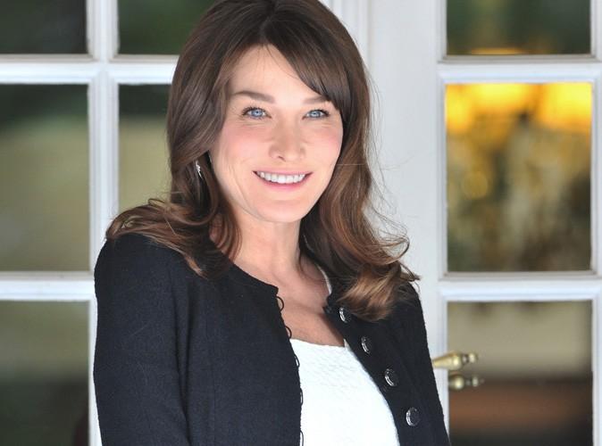 Carla Bruni : elle devrait accoucher le 3 octobre !