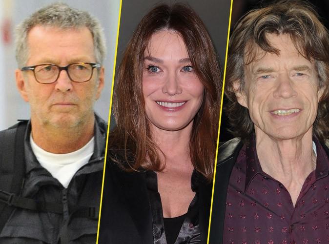 Carla Bruni : Mick Jagger et Eric Clapton se battent pour elle !