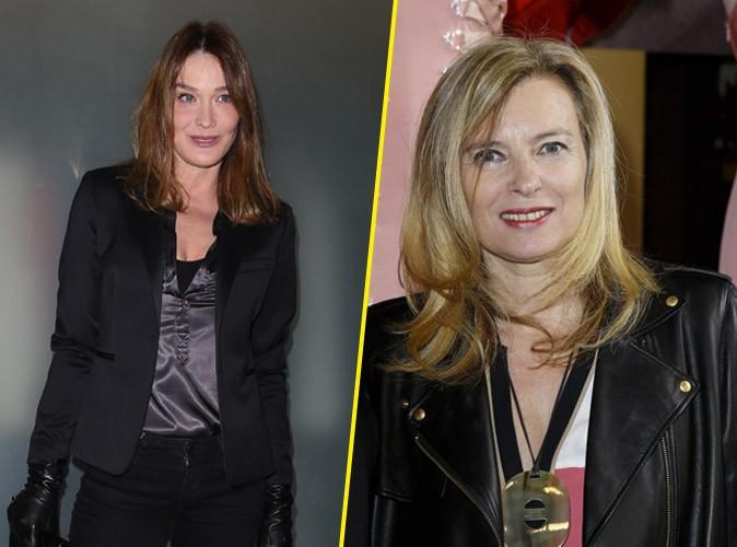 """Carla Bruni revient sur le livre de Valérie Trierweiler : """"Aucune femme n'aurait tenu le choc"""" !"""