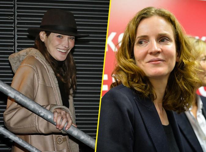 Carla Bruni-Sarkozy : elle s'affiche aux côtés de Nathalie Kosciusko-Morizet pour les municipales à Paris !
