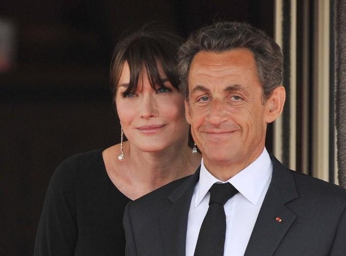 Carla Bruni-Sarkozy, enceinte et détendue, pour des vacances à la mer avec son président de mari !