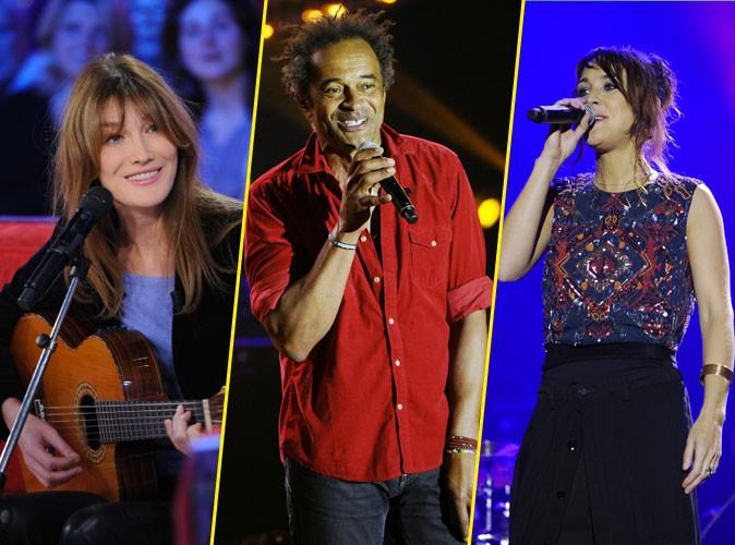 Carla Bruni, Yannick Noah, Zaz : combien gagnent-ils pour des concerts privés ?