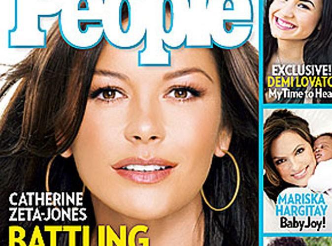 """Catherine Zeta-Jones : """"Il n'y a pas de honte à chercher de l'aide"""""""