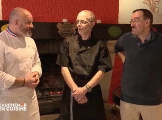 Cauchemar en cuisine phillipe etchebest et la femme du - Cauchemar en cuisine peyruis ...