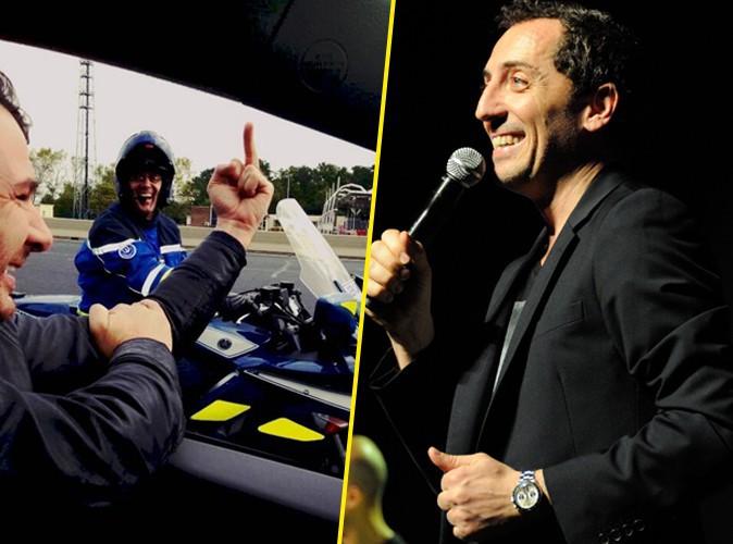 Célébritweets n°1 : Michael Youn lève le majeur devant des gendarmes pendant que Gad Elmaleh rencontre un paparazzi en carton !